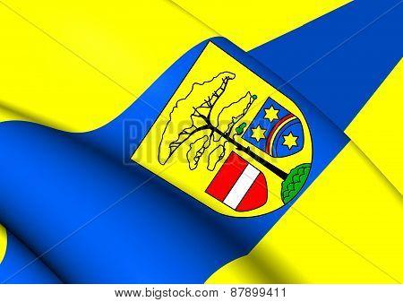 Flag Of Hohen Neuendorf, Germany.
