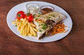 pic of shawarma  - Shawarma - JPG