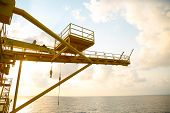 pic of offshoring  - Offshore oil and gas production and exploration business - JPG