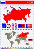 stock photo of nationalism  - Vector Russia Illustration Country Nation National Culture - JPG