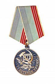 picture of labourer  - Medal  - JPG