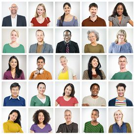pic of diversity  - Community Diversity Group Headshot People Concept - JPG