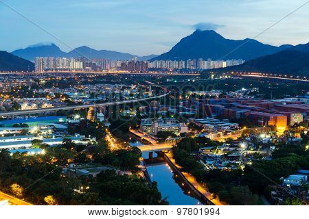 Hong Kong residential area