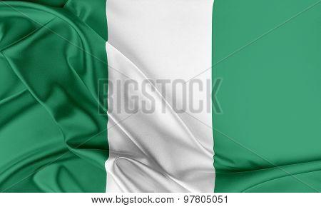 Nigeria Flag.