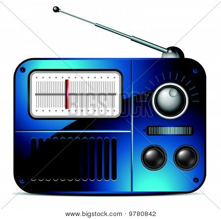 Old fm radio icon