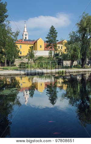 Church And Convent In Tapolca, Hungary