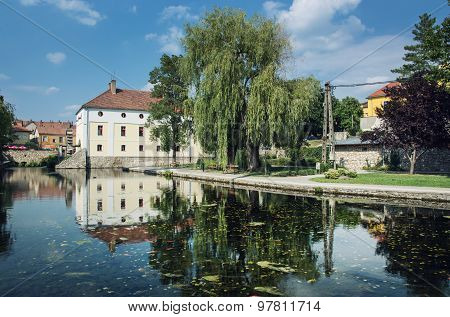 Mill Lake, Tapolca, Hungary, Central Europe