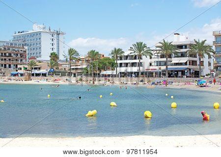 Sandy Beach At Cala Estancia