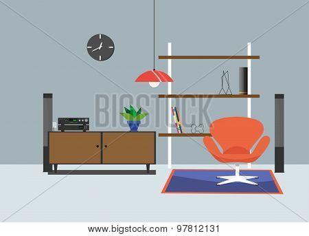 interior modern 70s