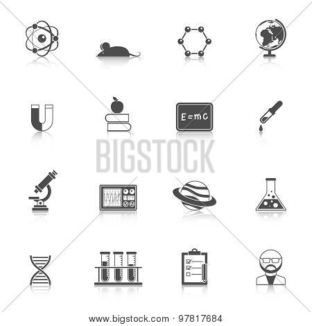 Science And Scholarship Icon Set