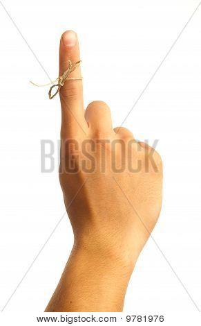 Hand Symbol Remember