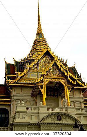 Thailand Asia    In  Bangkok Rain    Cross Colors  Roof Wat    Colors Religion