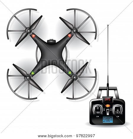 Black Quadrocopter