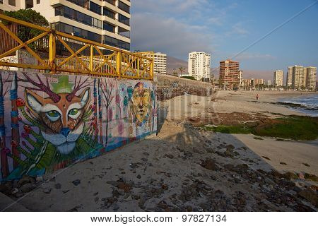 Murals on the Beach