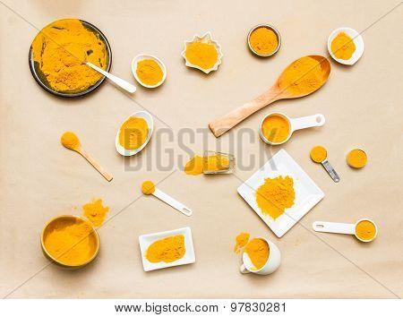 Turmeric Spices.