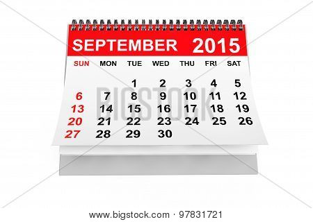 Calendar September 2015