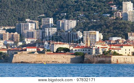 Ajaccio, Coastal Cityscape, South Corsica, France