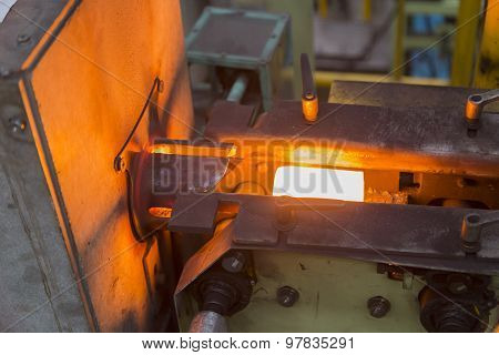Heating Steel By Induction Heating Furnace