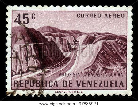 Caracas-la Guaira Highway, Venezuela
