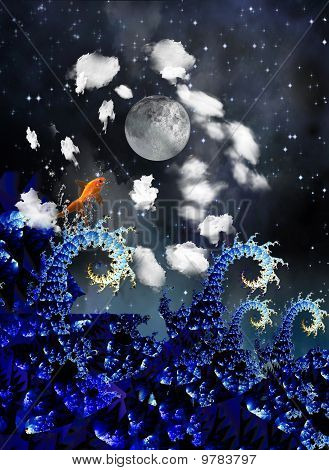 Mar de noite