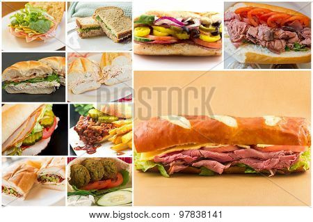 Sandwich Collage