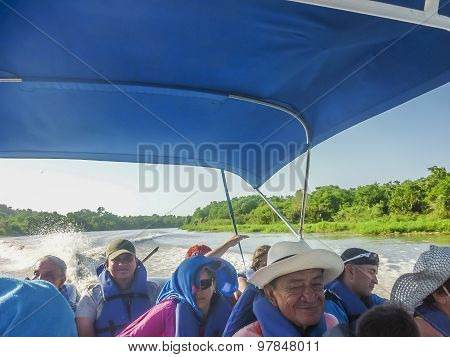 Adventure Boat Trip In Cartagena