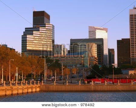 Sunlit Buildings