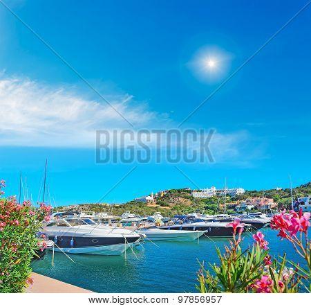 Luxury Yachts In Porto Cervo