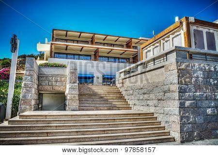 Staircase In Porto Cervo