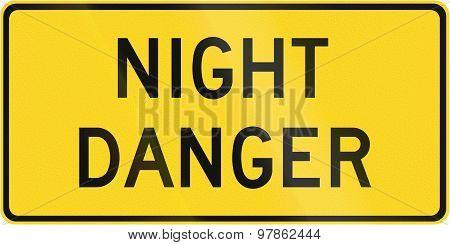 Night Danger In Canada