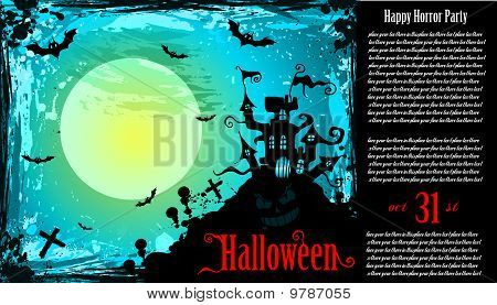 Suggestive Hallowen Party Flyer For Entertainment Event