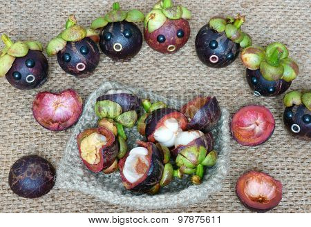 Amazing, Funny, Mangosteen, Worried, Anxiou Face