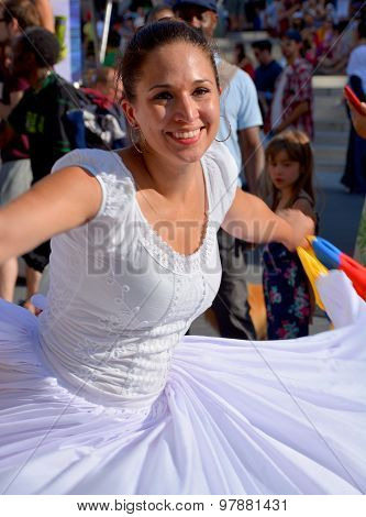 Caribbean dancer