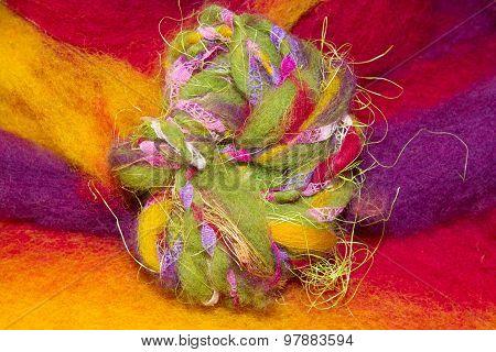 Colourful Handmade Artyarn