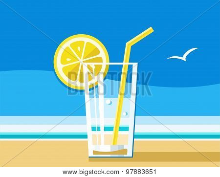 Water With Lemon, A Refreshin...