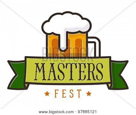 Beer fest emblem // Logo