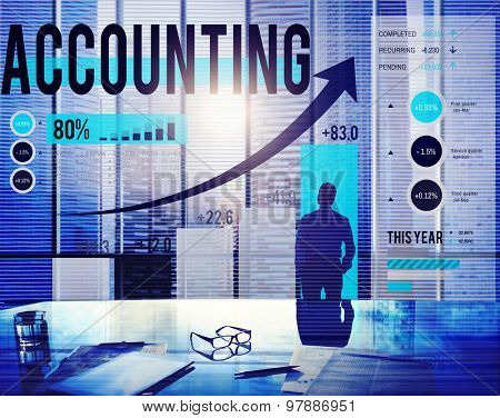 Accounting Financial Bookkeeping Budget Management Concept