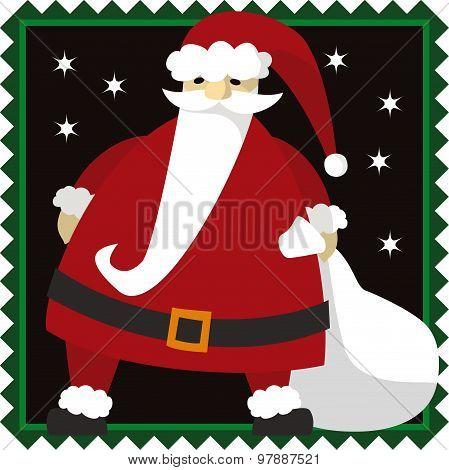 Santa Clause Christmas Illustration