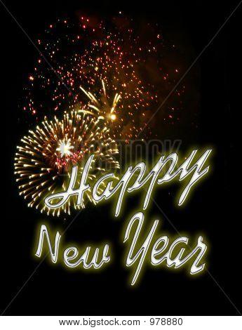 Fondo de fuegos artificiales - New Years Eve 6