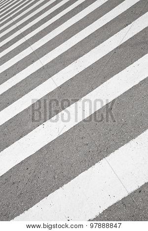 Crosswalk, Abstract Fragment