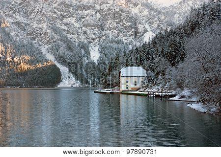 Winter Scene, Austria