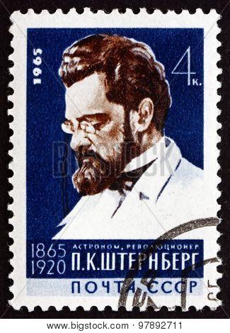 Postage Stamp Russia 1965 Pavel Karlovich Sternberg, Russian Ast