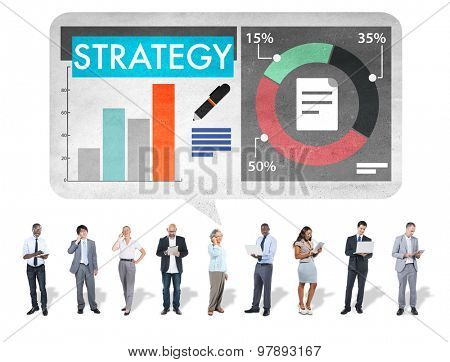 Strategy Business Tactics Planning Concept