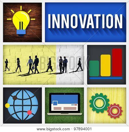 Innovation Technology Development Creative Invention Concept