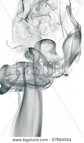 smoke isolated on a white background