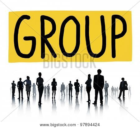 Group Union Team Organization Partnership Concept