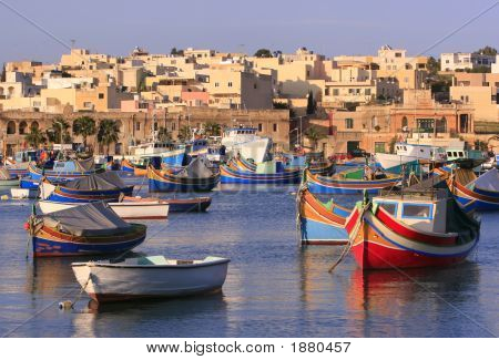 Marsaxlokk Fishing Village #3