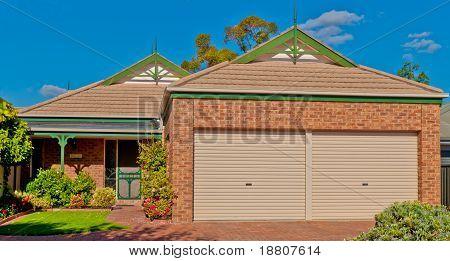Redbrick Suburban House
