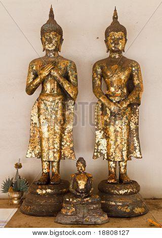 Couple Buddha Image And Smaller