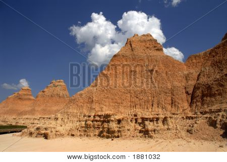 Cloud Over The Badlands
